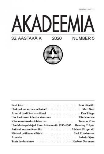 AKADEEMIA nr. 05 - 2020