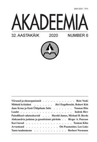 AKADEEMIA nr. 06 - 2020