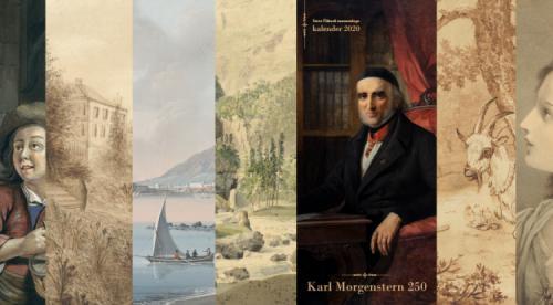 TÜ Raamatukogu kalenderalbum 2020 Karl Morgenstern 250