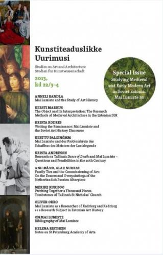 Kunstiteaduslikke Uurimusi - Studies on Art and Architecture 2013/3-4 (22)