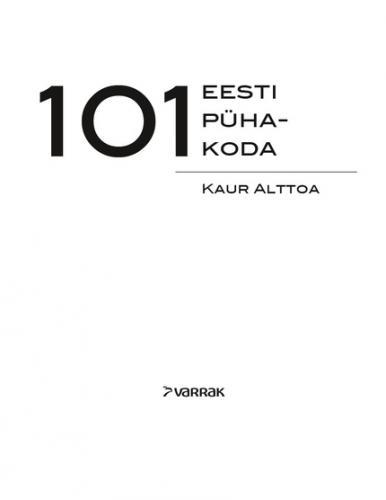 101 eesti pühakoda
