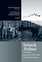 Toimik 'Priboi': Artikleid ja dokumente 1949. aasta märtsiküüditamisest