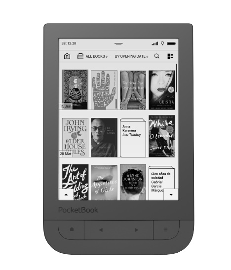 Pocketbook Touch HD black