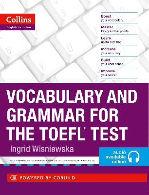 Vocabulary and Grammar for the TOEFL Test, Vocabulary and Grammar for the TOEFL Test