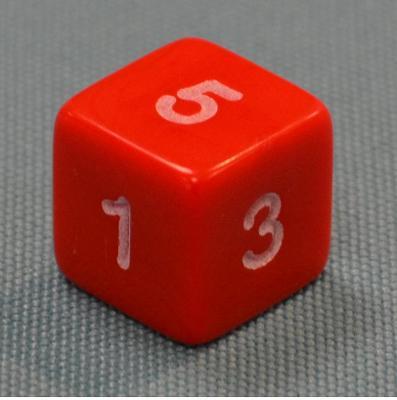 Dice - Numbers 1 - 6, Dice - Numbers 1 - 6
