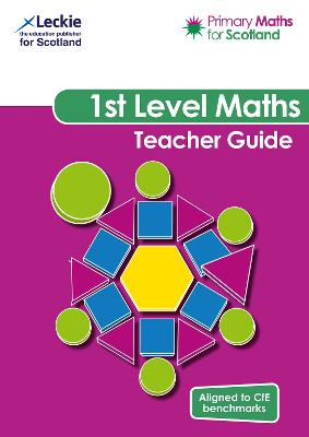 Primary Maths for Scotland First Level Teacher Guide: For Curriculum for Excellence Primary Maths