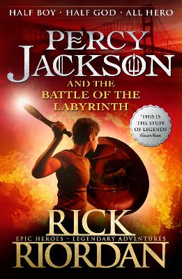 Percy Jackson and the Battle of the Labyrinth (Book 4) 4th edition, Bk. 4