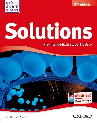 Solutions: Pre-Intermediate: Student's Book 2nd Revised edition