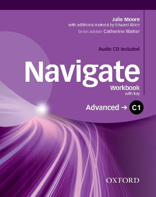 Navigate: C1 Advanced: Workbook with CD (with key): Your direct route to English success, Workbook