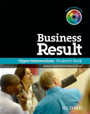 Business Result: Upper-Intermediate: Student's Book with DVD-ROM and Online   Workbook Pack