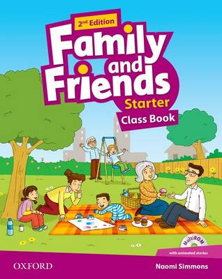 Family and Friends: Starter: Class Book with Student MultiROM 2nd Revised edition