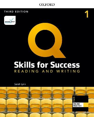 Q: Skills for Success: Level 1: Reading and Writing Student Book with iQ   Online Practice 3rd Revised edition