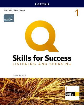 Q: Skills for Success: Level 1: Listening and Speaking Student Book with iQ   Online Practice 3rd Revised edition
