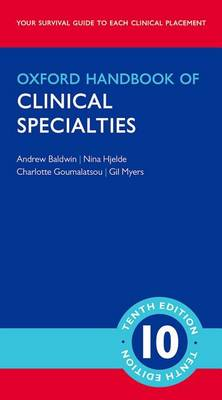 Oxford Handbook of Clinical Specialties 10th Revised edition