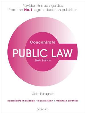 Public Law Concentrate: Law Revision and Study Guide 6th Revised edition