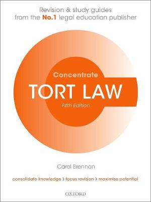 Tort Law Concentrate: Law Revision and Study Guide 5th Revised edition