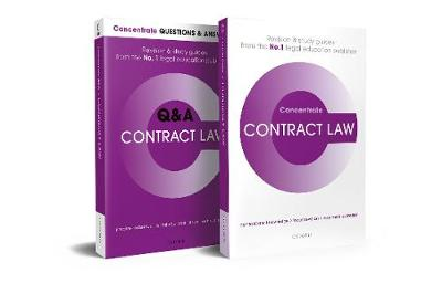 Contract Law Revision Concentrate Pack: Law Revision and Study Guide