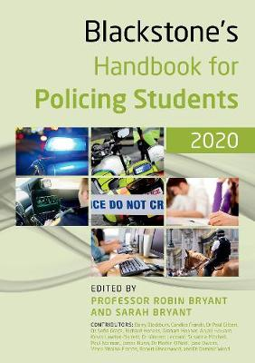 Blackstone's Handbook for Policing Students 2020 14th Revised edition