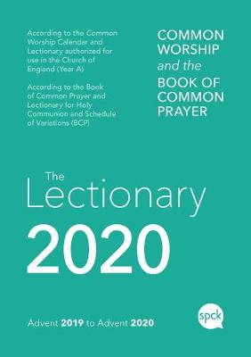 Common Worship Lectionary 2020: Spiral Bound