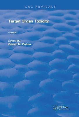 Target Organ Toxicity: Volume 2