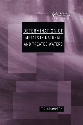 Determination of Metals in Natural and Treated Water
