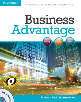 Business Advantage Intermediate Student's Book with DVD, Business Advantage Intermediate Student's Book with DVD