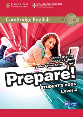 Cambridge English Prepare! Level 4 Student's Book, Level 4, Cambridge English Prepare! Level 4 Student's Book