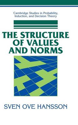 Structure of Values and Norms, The Structure of Values and Norms