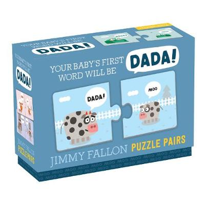 Jimmy Fallon Your Baby's First Word Will Be Dada Puzzle Pairs