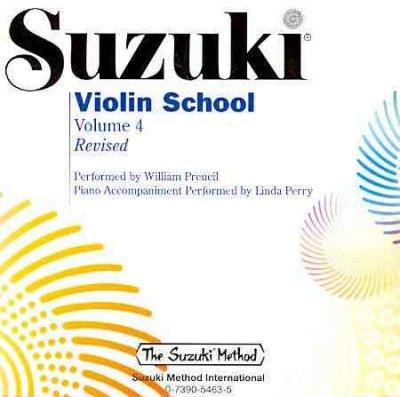 Suzuki: Violin School Volume 4 - Accompanying CD