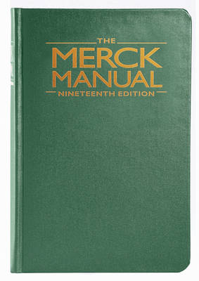Merck Manual of Diagnosis and Therapy 19th Revised edition