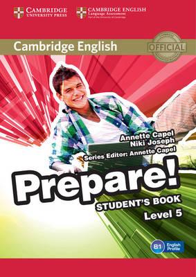 Cambridge English Prepare! Level 5 Student's Book, Level 5, Cambridge English Prepare! Level 5 Student's Book
