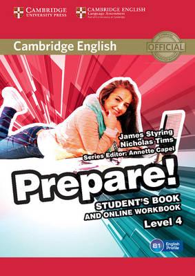 Cambridge English Prepare! Level 4 Student's Book and Online Workbook, Level 4, Cambridge English Prepare! Level 4 Student's Book and Online Workbook