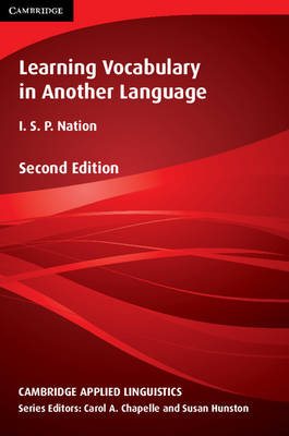 Learning Vocabulary in Another Language 2nd Revised edition