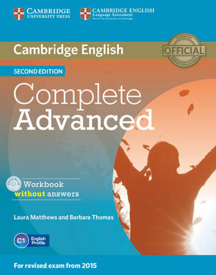 Complete Advanced Workbook without Answers with Audio CD 2nd Revised edition