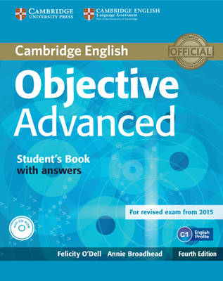 Objective Advanced Student's Book with Answers with CD-ROM 4th Revised edition, Objective Advanced Student's Book with Answers with CD-ROM