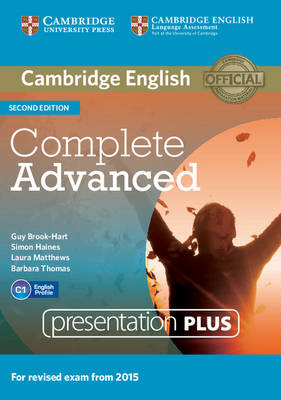 Complete Advanced Presentation Plus DVD-ROM 2nd Revised edition