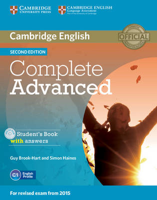 Complete Advanced Student's Book with Answers with CD-ROM 2nd Revised edition
