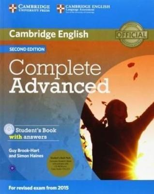 Complete Advanced Student's Book Pack (Student's Book with Answers with   CD-ROM and Class Audio CDs (2)) 2nd Revised edition