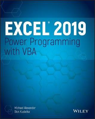 Excel 2019 Power Programming with VBA - E-book | Krisostomus