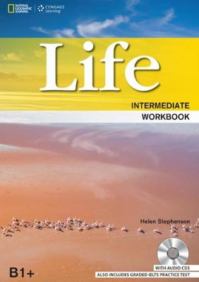 Life Intermediate: Workbook with Key and Audio CD: Workbook with Audio CD, B1