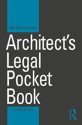 Architect's Legal Pocket Book 3rd New edition