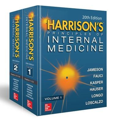 Harrison's Principles of Internal Medicine, Twentieth Edition (Vol.1 & Vol.2) 20th edition