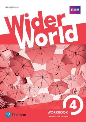 Wider World 4 Workbook with Extra Online Homework Pack