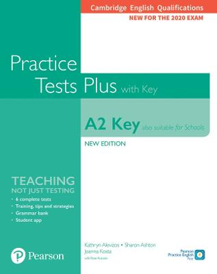 Cambridge English Qualifications: A2 Key (Also suitable for Schools) New   Edition Practice Tests Plus Student's Book with key 2nd edition