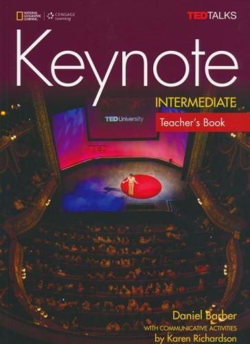 Keynote Intermediate: Teacher's Book with Class Audio CDs, B1