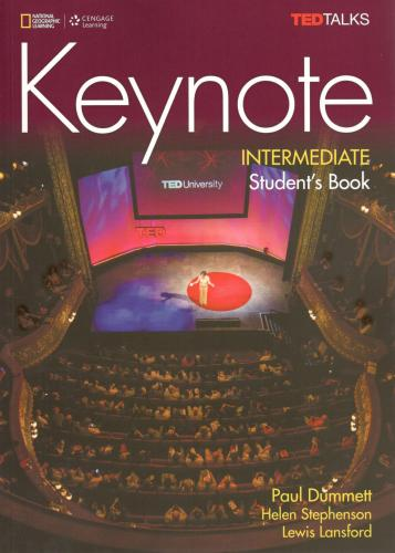Keynote Intermediate: Student's Book with DVD-Rom and Online Workbook Student Manual/Study Guide, B1, Student's Book