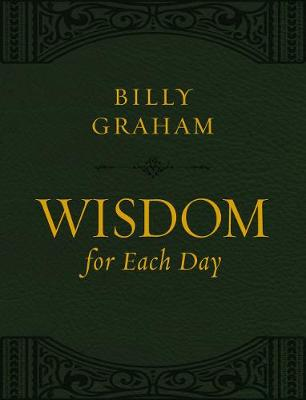 Wisdom for Each Day (Large Text Leathersoft) Large type / large print edition