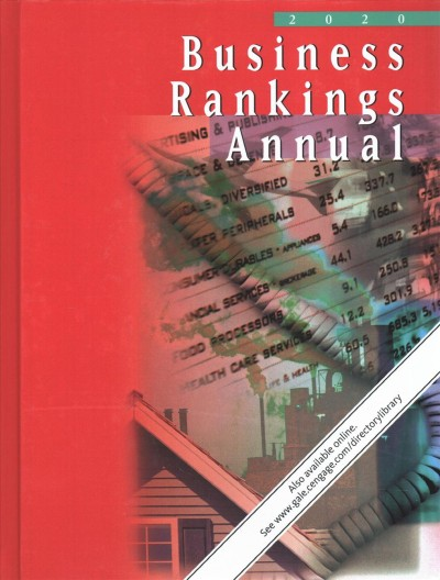 Business Rankings Annual: 2020, 4 Volume Set 2020th ed.