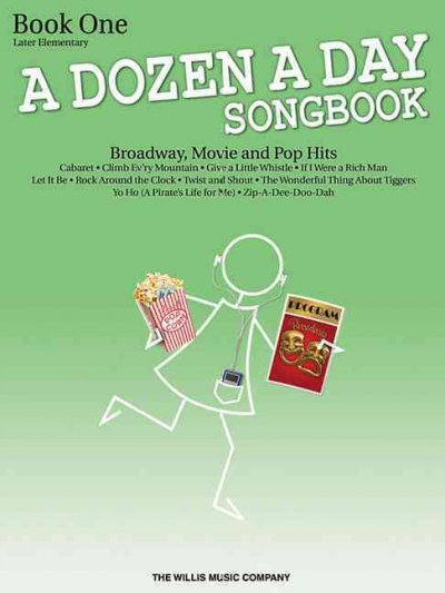 A Dozen a Day Songbook - Book 1 (Book Only)